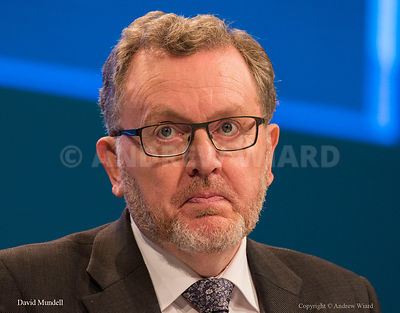 England, UK . 2.10.2017. Manchester . Conservative Party Conference, Monday. David Mundell.
