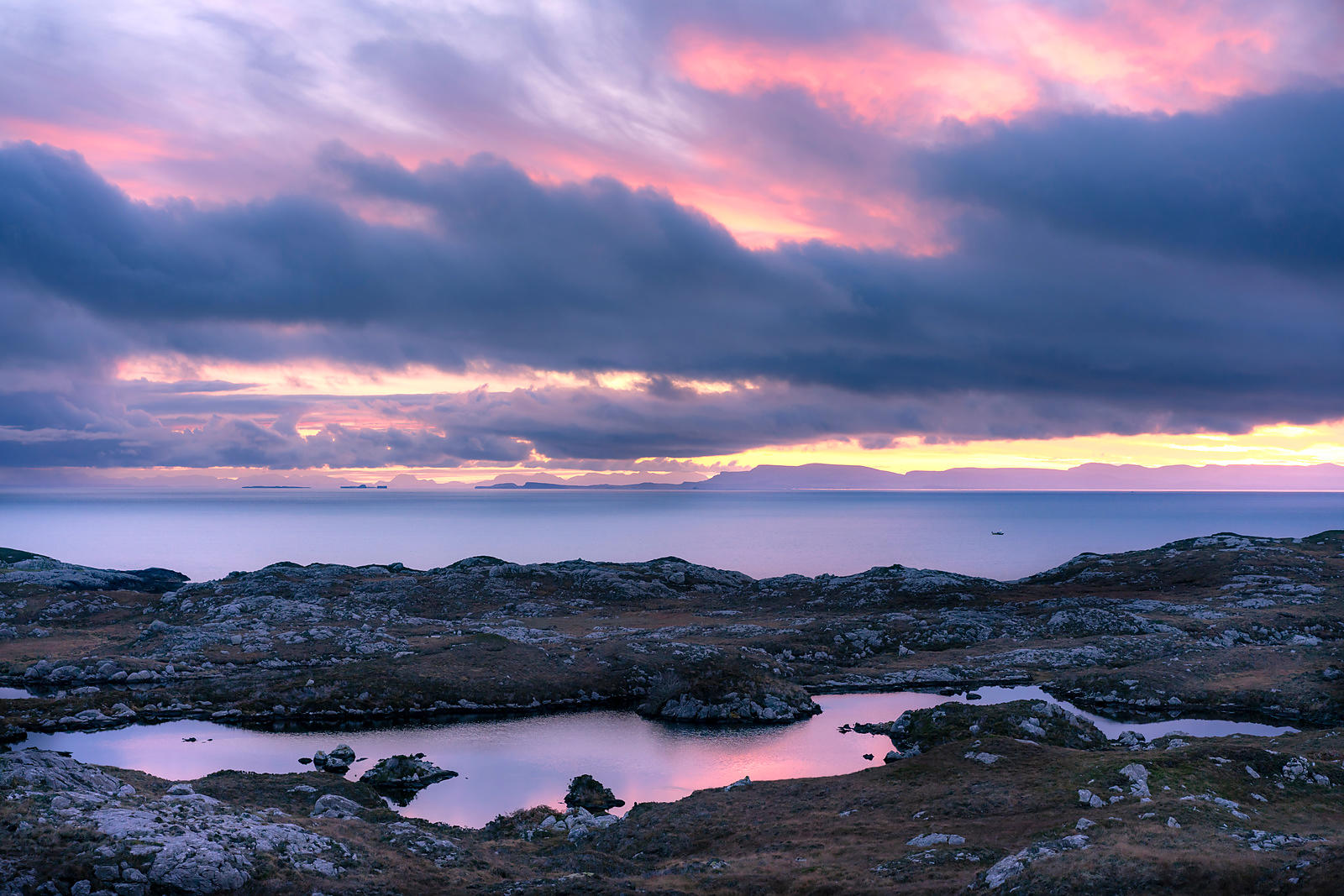 Daybreak on The Minch