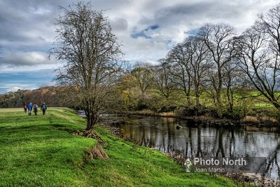 CLITHEROE 30B - River Ribble