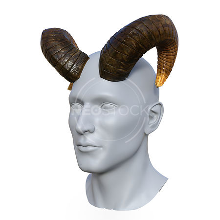 Goat_Horns_-_Three-Quarter