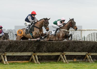 Gina Andrews and PASS THE GLASS - Race 2 - Confined - The Midlands Area Club at Thorpe Lodge 26/1