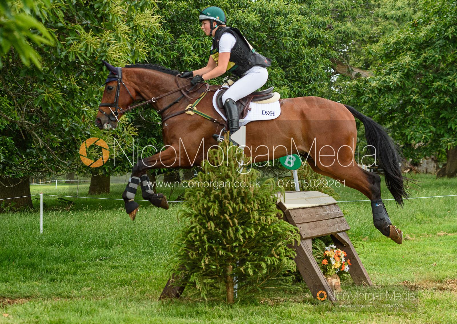 Susie Berry and RINGWOOD LB - Upton House Horse Trials 2019.