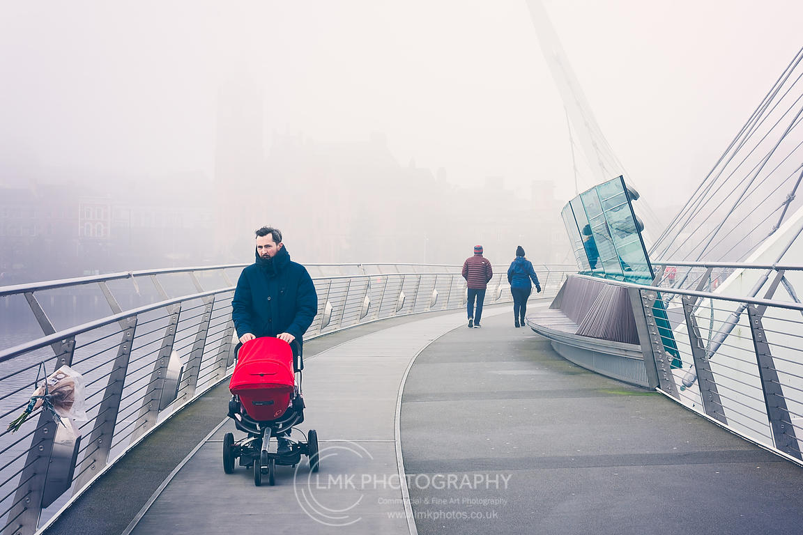 Red Pram Fog Walker