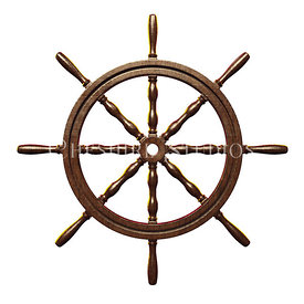 Sailing Ship Wheel