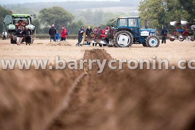 23rd September, 2015.The 74th Ploughing Championships 2015 held in Ratheneska, County Laois. Pictured is a view of competitor...
