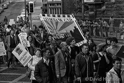 N82-6A CND March for the Future 1981