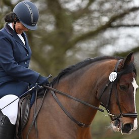 14/03/2020 - Class 7 - Unaffiliated dressage - Brook Farm training centre - UK