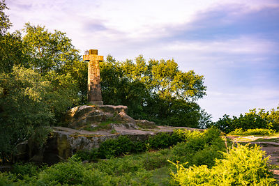 Wellington's Monument, Baslow Edge,  Peak District