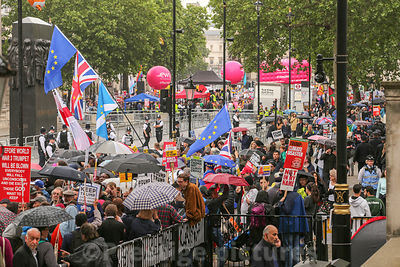Stock photo - State visit of president Donald Trump to London - photographed on June 4 2019