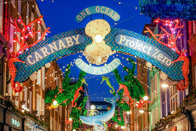 Carnaby Street 2019 Christmas lights