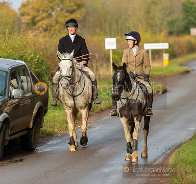William Wyatt, Frankie Wyatt - The Cottesmore at Stapleford 16/11