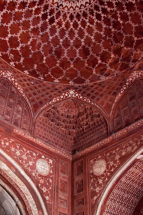 Taj Mahal Mosque Interior