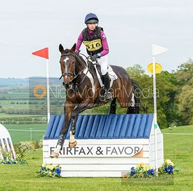 Lizzie Baugh and ALL ABOUT GOLD, Fairfax & Favor Rockingham Horse Trials 2019.