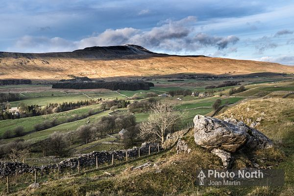 CHAPEL-LE-DALE 20D - Whernside from Southerscales