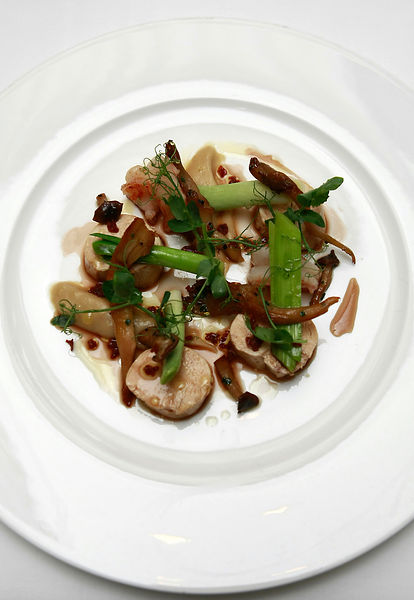 7 dishes created by Chef Lee Scott. .Pictured is Chicken and Mushroom. .Picture by Damien Maguire