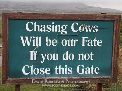 Image - Funny close the gate sign