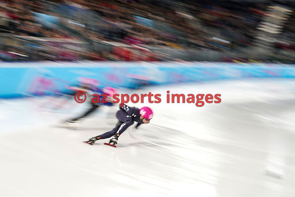 Lausanne, Switzerland - Wednesday January 15 2020: CHA Younghyun in action during Figure Skating: Mixed NOC Team Men Single S...