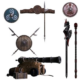 Misc Medieval Weapons
