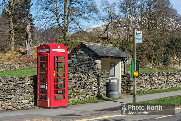 GRASMERE 29A - Defribrillator in K6 telephone box