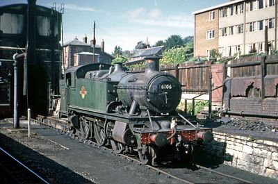 PHOTOS OF WR 6100 CLASS 2-6-2T STEAM LOCOS