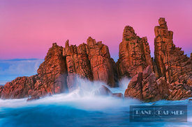 Rocky coast at Cape Woolamai - Australia, Australia, Victoria, Phillip Island, Cape Woolamai, Pinnacles - digital