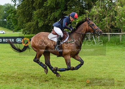 Rebecca Gibbs and DE BEERS DILLETANTE, Equitrek Bramham Horse Trials 2019