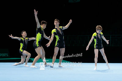AG 13-19 Men's Group Kazakhstan - Balance