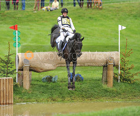 Kai-Steffen Meier and TSF KARASCADA M - Equitrek Bramham International Horse Trials 2012