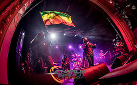 Damian Marley performing in Bournemouth