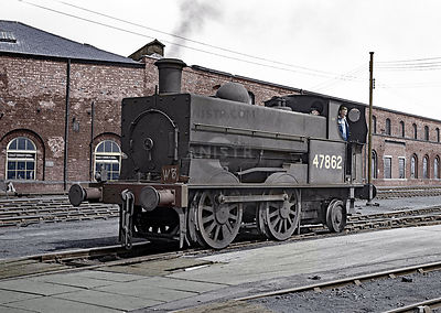 47862 Crewe Works (Colourised)