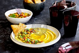 Multi Roasted Pepper Hummus