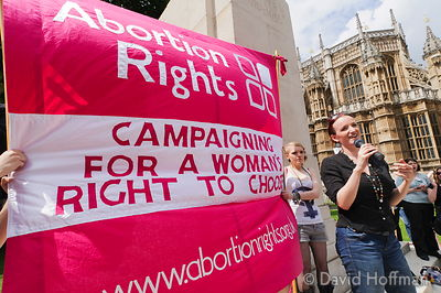 110709 Pro Choice 195 Pro-choice Protest organised by Swansea Feminist Network.Old Palace Yard, Westminster, 9 Jul 2011.