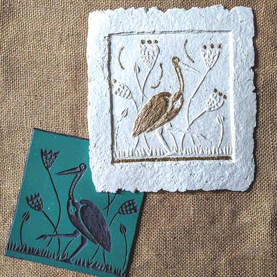 Embossed Prints by Judith Stroud