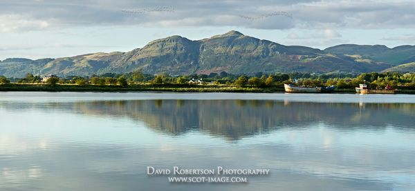 Image - The River Forth and Dumyat in the Ochils, Clackmannanshire, Scotland