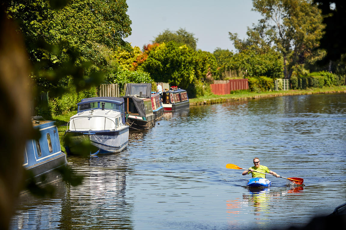 Bridgewater canal, Stockton Heath