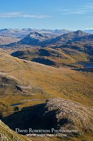 Image - View from Beinn Damh, Torridon, Wester Ross, Highland, Scotland