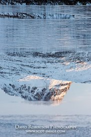 Image - Stac Pollaid reflected in Loch Sionascaig, Inverpolly