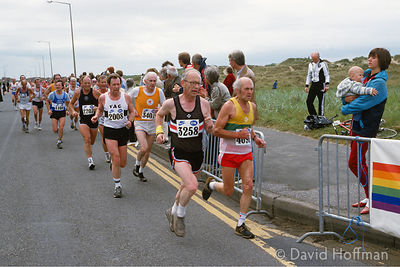 World Veteran's Half Marathon, Lytham, Lancashire in 1985