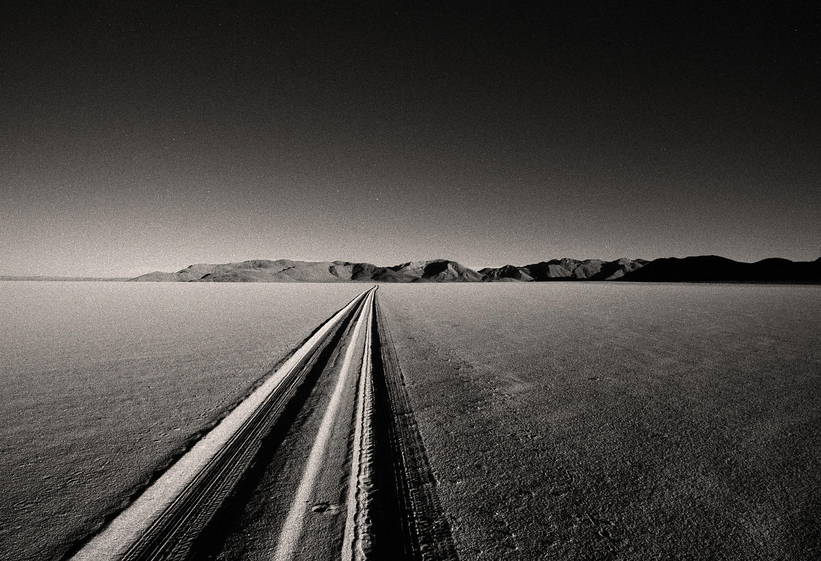 'Getting There' :  Namibia Night Drive  May 1998:   Photographer Neil Emmerson  £975 inc uk vat:  Edition of 25.