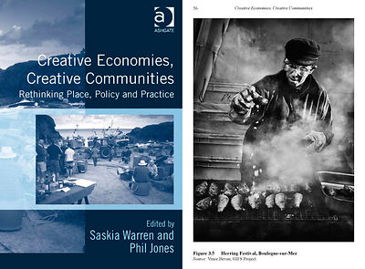'Creative Economies, Creative Communities', book.