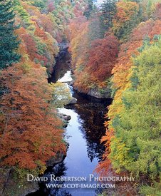Image - Pass of Killiecrankie, River Garry, Perthshire, Scotland