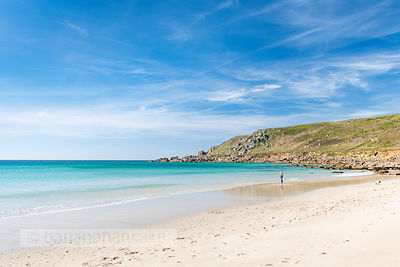 Gwynver (Gwenver) Beach, near Sennen, Cornwall - BP6732