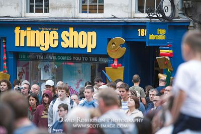 Image - The Fringe Shop in the Royal Mile, Edinburgh, Scotland