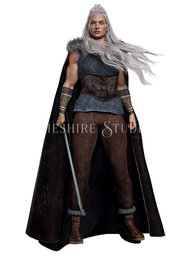 Fantasy Viking or Nordic Woman