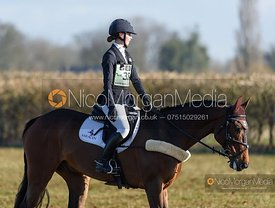 Lizzie Baugh and QUARRY MAN. Oasby (1) Horse Trials 2020