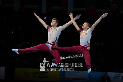 WCH Men's Pair Qualification Ukraine - Balance
