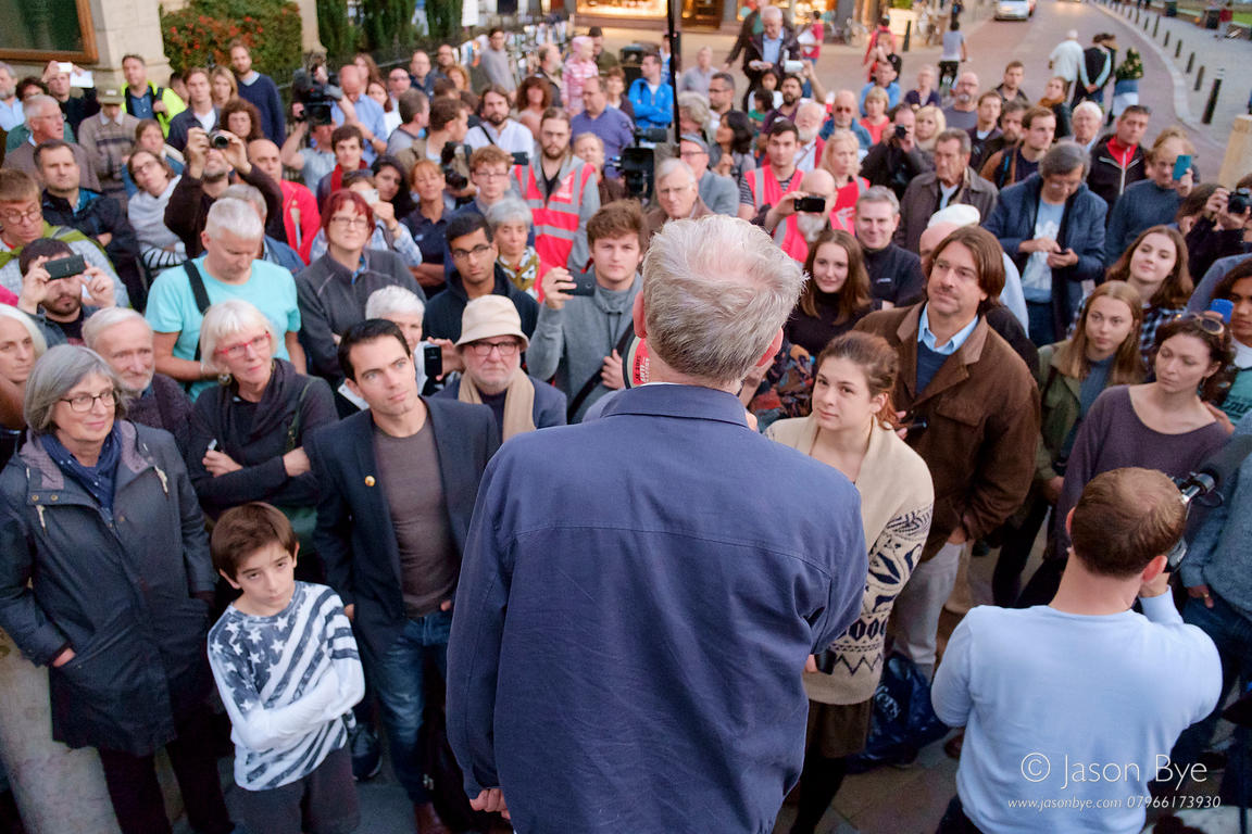 Jeremy Corbyn, Burston Strike School Rally, Diss, Norfolk, Jason Bye, 06/09/15