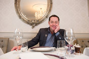 18th December, 2014.Chef Neven Maguire photographed at his restaurant, Bed and Breakfast and Cookery school (McNeans) in the ...