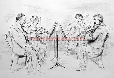 T16185_bohemian_Quartet_1914_-_1933_line_up_by_Hugo_boettinger