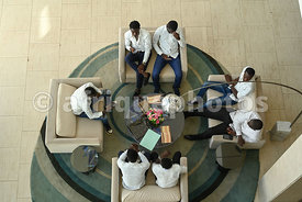 Students in a meeting, Dakar